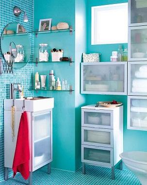 Marzua armarios para ba os peque os - Armario cuarto de bano ...