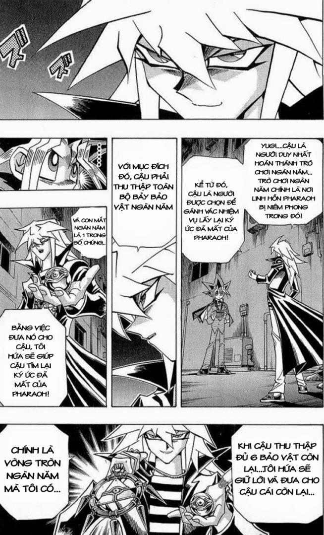 YUGI-OH! chap 281 - hiện vật bí ẩn trang 3