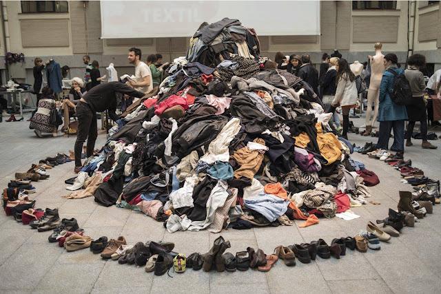 #2MaratonReciclajeTextil #AltrapoLab #LaCasaEncendida #FashionRevolution #LargaVidaALaRopa #Upcycling