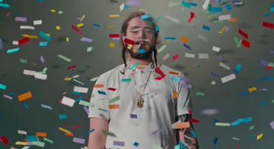"Post Malone Premieres ""Congratulations"" Video"