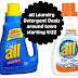 All Laundry Detergent Deals with coupon starting 4/22 *UPDATED*