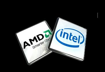 INTEL и AMD.