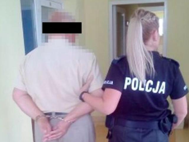 zdjęcie: policja/ Prowadził zbiórkę na rzekomo chorą córkę