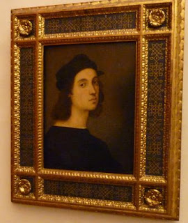 Autorretrato (1504-1506) de Raffael.