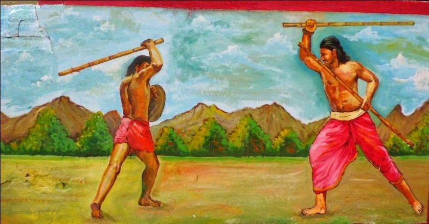 Image result for சிலம்பம்