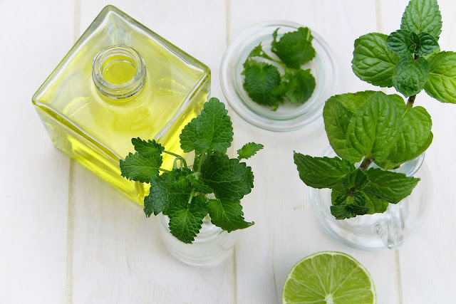 peppermint essential oil helps with anxiety problems, stress, depression and nervousness