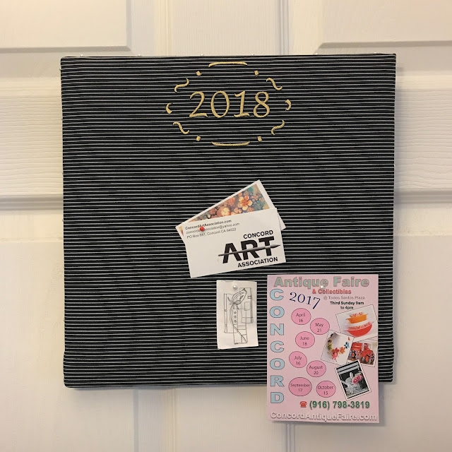 fabric bulletin board lisa fulmer