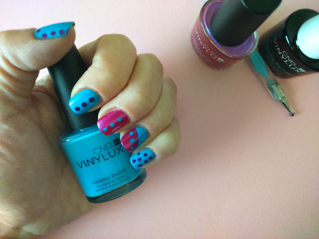 CND Vinylux Weekly Polish in Digi-Teal #211