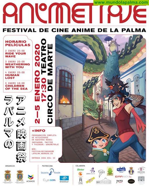 Hoy comienza el  V Festival de Cine Anime - Animetraje
