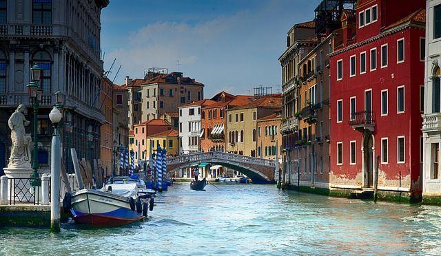 Gondola Italy Water Architecture Venezia Venice, Best Vacation Spots For Couples