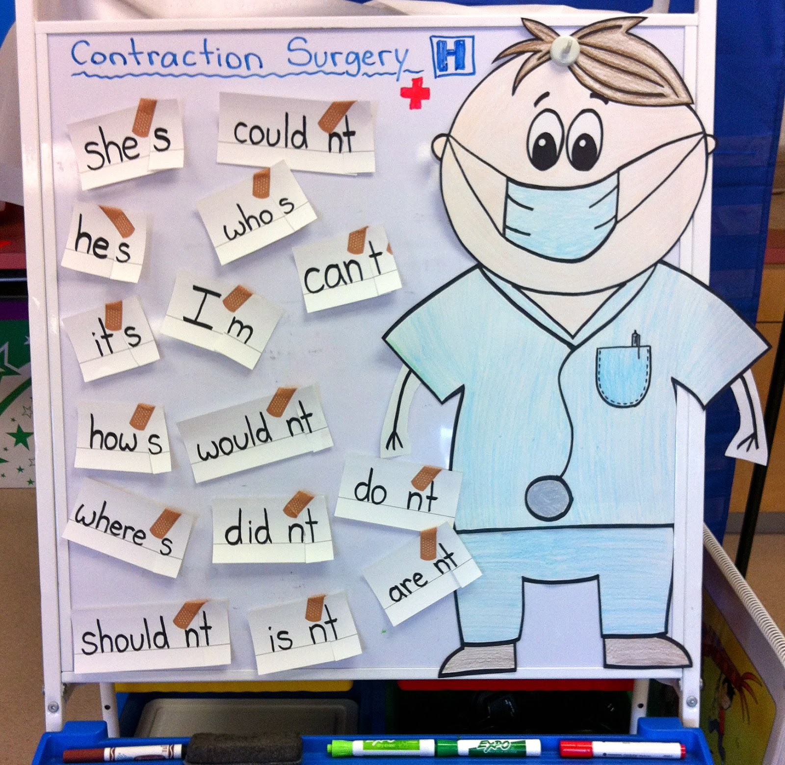 Fun With Firsties Contraction Surgery Earth Day Amp More