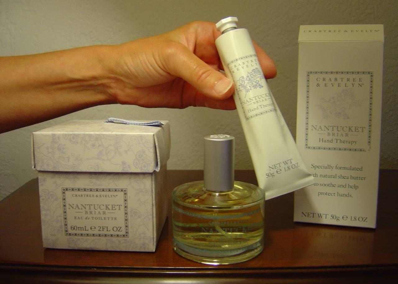Crabtree & Evelyn's Nantucket Briar Eau de Toilette Spray and Hand Cream.jpeg