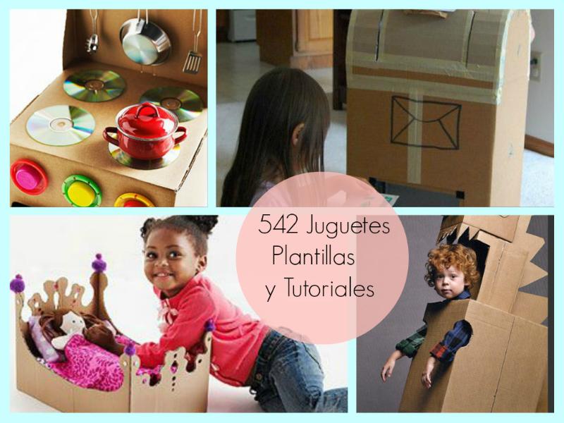 juguetes, cartón, papel, origami, tutoriales, manualidades, infantil