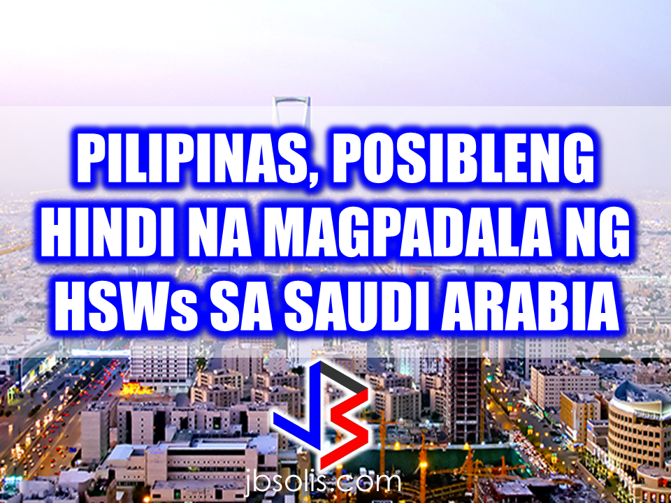 "Due to the growing number of reported incidents about maltreatment and abuse experienced by Filipina HSWs in Saudi Arabia, DOLE Secretary Silvestre Bello III said that they are putting into consideration a halt on deploying HSWs in Saudi Arabia unless they have the assurance of their protection against abuse and maltreatment.  A royal reception was made to welcome President Rodrigo Duterte in Saudi Arabia during his meeting with Saudi Royal Highness King Salman Bin Abdulaziz al Saud. The president  with members of his cabinet, embassy officials  and Senator Alan Peter Cayetano was received on the royal palace.  In their meeting, President Duterte expressed his deep gratitude to the King for continually accepting the OFWs to work in their country. The King also thanked the President because of the contributions of OFWs for their good job quality and expertise for helping the Saudi economy afloat.  A labor agreement protecting the welfare of the OFWs was signed in front of the two heads of states. ""This agreement refers to the labor standards that provided our OFWs. It deals on better wages, protection from maltreatment, working hours, and other labor issues,"" Secretary Bello said. Bello also said that the president may bring home with him more than a hundred distressed OFW,  more than a hundred  of which availed the amnesty program from the Saudi Crown Prince has already arrived home.   Recommended:  The President assures that he will bring 250 stranded OFWs from Saudi Arabia with him when he returned to the Philippines after a series of visit in the Middle East.  During his speech in Davao before his departure, he said that God-willing, he will bring some OFWs in death row with him when he return to the country. During his speech in front of the Filipino Community in Riyadh , Saudi Arabia, President Duterte said that he will be bringing home the first batch of 250 OFWs who had been stranded in Saudi Arabia for a very long time, and they will continue to do it.  ""We are arranging for the transportation of 250 OFWs who hopefully be back to the Philippines in time for the return of President Rodrigo Duterte.., "" DOLE Secretary Silvestre Bello III said.  Secretary Bello also added that since the announcement of the Saudi Crown Prince Deputy Prime Minister and the Minister of Interior Prince Mohammed bin Naif Al Saud about the amnesty program for expats, DOLE has already sent an augmentation team to assist the OFWs  to comply with the requirements for the amnesty and a lot of them have already availed it.  According to Secretary Bello, they are also working on the unpaid claims of the OFWs and they are only validating it in order to establish their claims. If they are all been verified, OWWA will be paying their money claims in advance. President Duterte will also be visiting Bahrain and Qatar after his visit to Saudi Arabia and is expected to be back in the Philippines on April 17. Recommended:  ""They've been given the clearance. I will fly them home. When I return, I'll be bringing some of them home, "" he said during a pre-departure press briefing in Davao City.  Reports saying that the Embassy officials in Saudi Arabia have been acting slow with regards to helping stranded and runaway OFWs are not entirely correct according to Philippine Consul General Iric Arribas. He also said that the Philippine Embassy in Riyadh and  the philippine Consulate in Jeddah are both providing the OFWs all the help they need which includes repatriation as well.  700 OFWs have been in jails in Saudi Arabia for various charges because there are no assistance coming from the Embassy officials, according to the reports from various OFW advocates.    The OFWs are the reason why President Rodrigo Duterte is pushing through with the campaign on illegal drugs, acknowledging their hardships and sacrifices. He said that as he visit the countries where there are OFWs, he has heard sad stories about them: sexually abused Filipinas,domestic helpers being forced to work on a number of employers. ""I have been to many places. I have been to the Middle East. You know, the husband is working in one place, the wife in another country. The so many sad stories I hear about our women being raped, abused sexually,"" The President said. About Filipino domestic helpers, he said:  ""If you are working on a family and the employer's sibling doesn't have a helper, you will also work for them. And if in a compound,the son-in-law of the employer is also living in there, you will also work for him.So, they would finish their work on sunrise."" He even refer to the OFWs being similar to the African slaves because of the situation that they have been into for the sake of their families back home. Citing instances that some of them, out of deep despair, resorted to ending their own lives.  The President also said that he finds it heartbreaking to know that after all the sacrifices of the OFWs working abroad for the future of their families they would come home just to learn that their children has been into illegal drugs. ""I made no bones about my hatred. I said, 'If you do drugs in my city, if you destroy our daughters and sons, I'll just have to kill you.' I repeated the same warning when i became president,"" he said.   Critics of the so-called violent war on drugs under President Duterte's administration includes local and international human rights groups, linking the campaign on thousands of drug-related killings.  Police figures show that legitimate police operations have led to over 2,600 deaths of individuals involved in drugs since the war on drugs began. However, the war on drugs has been evident that the extent of drug menace should be taken seriously. The drug personalities includes high ranking officials and they thrive in the expense of our own children,if not being into drugs, being victimized by drug related crimes. The campaign on illegal drugs has somehow made a statement among the drug pushers and addicts. If the common citizen fear walking on the streets at night worrying about the drug addicts lurking in the dark, now they can walk peacefully while the drug addicts hide in fear that the police authorities might get them. Source:GMA {INSERT ALL PARAGRAPHS HERE {EMBED 3 FB PAGES POST FROM JBSOLIS/THOUGHTSKOTO/PEBA HERE OR INSERT 3 LINKS}   ©2017 THOUGHTSKOTO www.jbsolis.com SEARCH JBSOLIS The OFWs are the reason why President Rodrigo Duterte is pushing through with the campaign on illegal drugs, acknowledging their hardships and sacrifices. He said that as he visit the countries where there are OFWs, he has heard sad stories about them: sexually abused Filipinas,domestic helpers being forced to work on a number of employers. ©2017 THOUGHTSKOTO www.jbsolis.com SEARCH JBSOLIS ""They've been given the clearance. I will fly them home. When I return, I'll be bringing some of them home, "" he said during a pre-departure press briefing in Davao City. The President assures that he will bring 250 stranded OFWs from Saudi Arabia with him when he returned to the Philippines after a series of visit in the Middle East.  During his speech in Davao before his departure, he said that God-willing, he will bring some OFWs in death row with him when he return to the country. During his speech in front of the Filipino Community in Riyadh , Saudi Arabia, President Duterte said that he will be bringing home the first batch of 250 OFWs who had been stranded in Saudi Arabia for a very long time, and they will continue to do it.  ""We are arranging for the transportation of 250 OFWs who hopefully be back to the Philippines in time for the return of President Rodrigo Duterte.., "" DOLE Secretary Silvestre Bello III said.  Secretary Bello also added that since the announcement of the Saudi Crown Prince Deputy Prime Minister and the Minister of Interior Prince Mohammed bin Naif Al Saud about the amnesty program for expats, DOLE has already sent an augmentation team to assist the OFWs  to comply with the requirements for the amnesty and a lot of them have already availed it.  According to Secretary Bello, they are also working on the unpaid claims of the OFWs and they are only validating it in order to establish their claims. If they are all been verified, OWWA will be paying their money claims in advance. President Duterte will also be visiting Bahrain and Qatar after his visit to Saudi Arabia and is expected to be back in the Philippines on April 17. Recommended:  ""They've been given the clearance. I will fly them home. When I return, I'll be bringing some of them home, "" he said during a pre-departure press briefing in Davao City.  Reports saying that the Embassy officials in Saudi Arabia have been acting slow with regards to helping stranded and runaway OFWs are not entirely correct according to Philippine Consul General Iric Arribas. He also said that the Philippine Embassy in Riyadh and  the philippine Consulate in Jeddah are both providing the OFWs all the help they need which includes repatriation as well.  700 OFWs have been in jails in Saudi Arabia for various charges because there are no assistance coming from the Embassy officials, according to the reports from various OFW advocates.    The OFWs are the reason why President Rodrigo Duterte is pushing through with the campaign on illegal drugs, acknowledging their hardships and sacrifices. He said that as he visit the countries where there are OFWs, he has heard sad stories about them: sexually abused Filipinas,domestic helpers being forced to work on a number of employers. ""I have been to many places. I have been to the Middle East. You know, the husband is working in one place, the wife in another country. The so many sad stories I hear about our women being raped, abused sexually,"" The President said. About Filipino domestic helpers, he said:  ""If you are working on a family and the employer's sibling doesn't have a helper, you will also work for them. And if in a compound,the son-in-law of the employer is also living in there, you will also work for him.So, they would finish their work on sunrise."" He even refer to the OFWs being similar to the African slaves because of the situation that they have been into for the sake of their families back home. Citing instances that some of them, out of deep despair, resorted to ending their own lives.  The President also said that he finds it heartbreaking to know that after all the sacrifices of the OFWs working abroad for the future of their families they would come home just to learn that their children has been into illegal drugs. ""I made no bones about my hatred. I said, 'If you do drugs in my city, if you destroy our daughters and sons, I'll just have to kill you.' I repeated the same warning when i became president,"" he said.   Critics of the so-called violent war on drugs under President Duterte's administration includes local and international human rights groups, linking the campaign on thousands of drug-related killings.  Police figures show that legitimate police operations have led to over 2,600 deaths of individuals involved in drugs since the war on drugs began. However, the war on drugs has been evident that the extent of drug menace should be taken seriously. The drug personalities includes high ranking officials and they thrive in the expense of our own children,if not being into drugs, being victimized by drug related crimes. The campaign on illegal drugs has somehow made a statement among the drug pushers and addicts. If the common citizen fear walking on the streets at night worrying about the drug addicts lurking in the dark, now they can walk peacefully while the drug addicts hide in fear that the police authorities might get them. Source:GMA {INSERT ALL PARAGRAPHS HERE {EMBED 3 FB PAGES POST FROM JBSOLIS/THOUGHTSKOTO/PEBA HERE OR INSERT 3 LINKS}   ©2017 THOUGHTSKOTO www.jbsolis.com SEARCH JBSOLIS The OFWs are the reason why President Rodrigo Duterte is pushing through with the campaign on illegal drugs, acknowledging their hardships and sacrifices. He said that as he visit the countries where there are OFWs, he has heard sad stories about them: sexually abused Filipinas,domestic helpers being forced to work on a number of employers. ©2017 THOUGHTSKOTO www.jbsolis.com SEARCH JBSOLIS Reports saying that the Embassy officials in Saudi Arabia have been acting slow with regards to helping stranded and runaway OFWs are not entirely correct according to Philippine Consul General Iric Arribas. He also said that the Philippine Embassy in Riyadh and  the philippine Consulate in Jeddah are both providing the OFWs all the help they need which includes repatriation as well.  700 OFWs have been in jails in Saudi Arabia for various charges because there are no assistance coming from the Embassy officials, according to the reports from various OFW advocates.    The OFWs are the reason why President Rodrigo Duterte is pushing through with the campaign on illegal drugs, acknowledging their hardships and sacrifices. He said that as he visit the countries where there are OFWs, he has heard sad stories about them: sexually abused Filipinas,domestic helpers being forced to work on a number of employers. ""I have been to many places. I have been to the Middle East. You know, the husband is working in one place, the wife in another country. The so many sad stories I hear about our women being raped, abused sexually,"" The President said. About Filipino domestic helpers, he said:  ""If you are working on a family and the employer's sibling doesn't have a helper, you will also work for them. And if in a compound,the son-in-law of the employer is also living in there, you will also work for him.So, they would finish their work on sunrise."" He even refer to the OFWs being similar to the African slaves because of the situation that they have been into for the sake of their families back home. Citing instances that some of them, out of deep despair, resorted to ending their own lives.  The President also said that he finds it heartbreaking to know that after all the sacrifices of the OFWs working abroad for the future of their families they would come home just to learn that their children has been into illegal drugs. ""I made no bones about my hatred. I said, 'If you do drugs in my city, if you destroy our daughters and sons, I'll just have to kill you.' I repeated the same warning when i became president,"" he said.   Critics of the so-called violent war on drugs under President Duterte's administration includes local and international human rights groups, linking the campaign on thousands of drug-related killings.  Police figures show that legitimate police operations have led to over 2,600 deaths of individuals involved in drugs since the war on drugs began. However, the war on drugs has been evident that the extent of drug menace should be taken seriously. The drug personalities includes high ranking officials and they thrive in the expense of our own children,if not being into drugs, being victimized by drug related crimes. The campaign on illegal drugs has somehow made a statement among the drug pushers and addicts. If the common citizen fear walking on the streets at night worrying about the drug addicts lurking in the dark, now they can walk peacefully while the drug addicts hide in fear that the police authorities might get them. Source:GMA {INSERT ALL PARAGRAPHS HERE {EMBED 3 FB PAGES POST FROM JBSOLIS/THOUGHTSKOTO/PEBA HERE OR INSERT 3 LINKS}   ©2017 THOUGHTSKOTO www.jbsolis.com SEARCH JBSOLIS The OFWs are the reason why President Rodrigo Duterte is pushing through with the campaign on illegal drugs, acknowledging their hardships and sacrifices. He said that as he visit the countries where there are OFWs, he has heard sad stories about them: sexually abused Filipinas,domestic helpers being forced to work on a number of employers.©2017 THOUGHTSKOTO www.jbsolis.com SEARCH JBSOLIS"