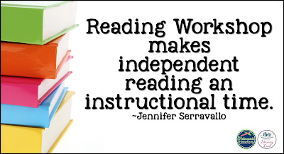 reading workshop is instructional time
