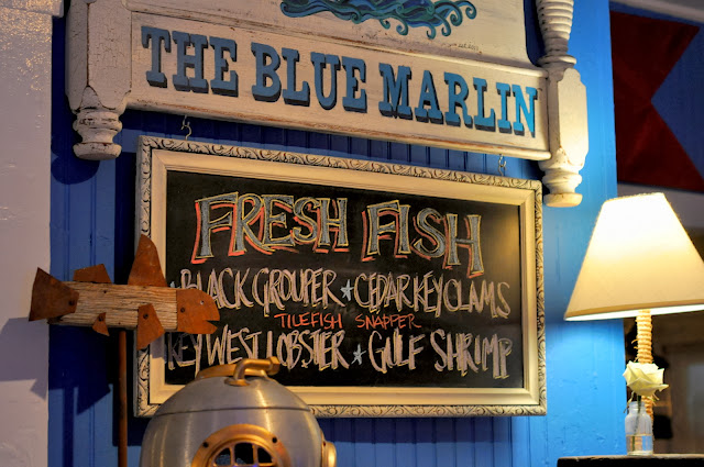 Blue Marlin Restaurant Interior - Bradenton Beach, FL | Taste As You Go