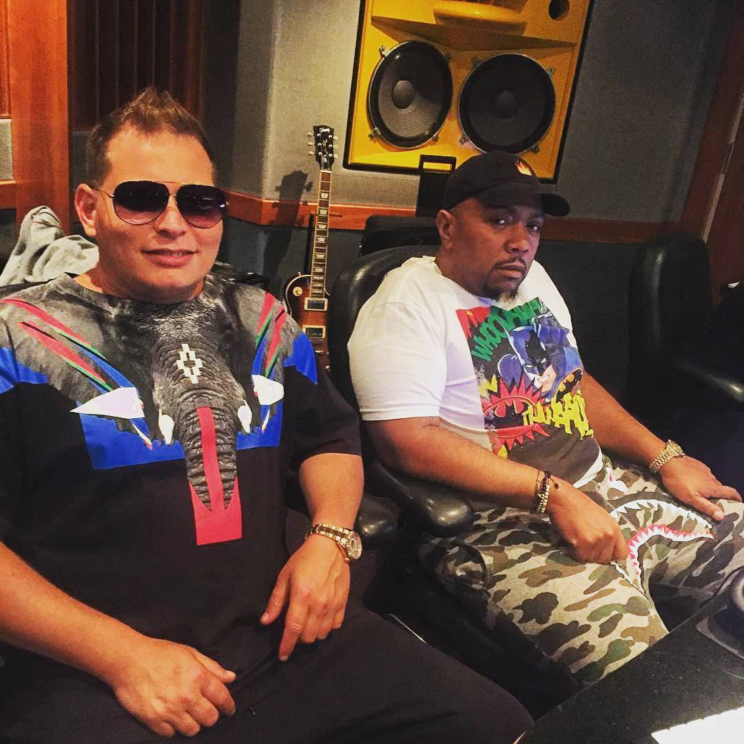 Timbaland & Scott Storch Making New Beats in The Studio - Timbaland