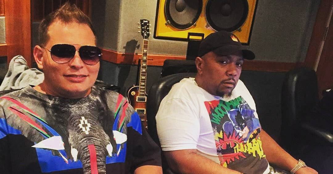 Timbaland & Scott Storch Making New Beats in The Studio