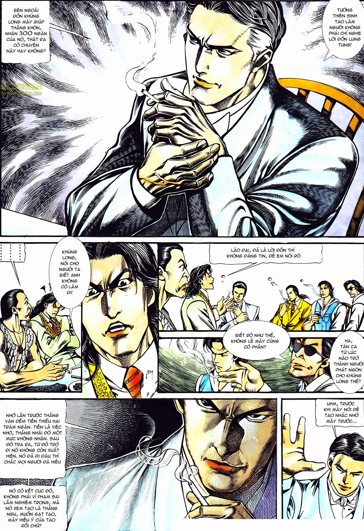 Người Trong Giang Hồ chapter 121: phong khởi vân dũng trang 15