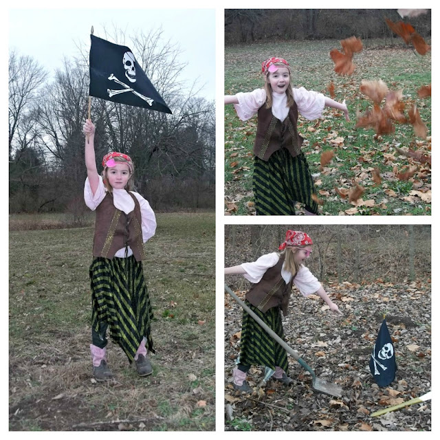 DIY Homemade: What She's Wearing Wednesday Pirate Princess Costume