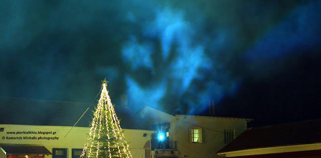 Βούλιαξε από κόσμο σήμερα το βράδυ το Χριστουγεννιάτικο Χωριό του Κόσμου στην Κατερίνη!