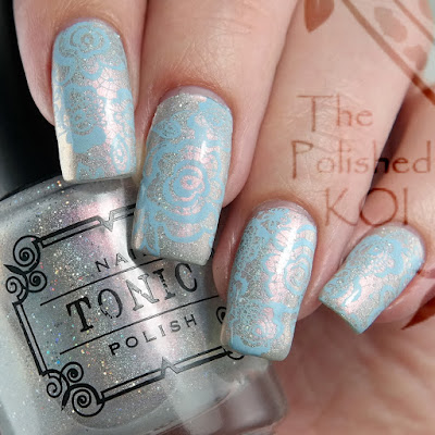 Tonic Polish One Million Flowers Nail Polish Swatch