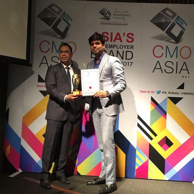 "BLS International receives ""Best Workplace Practices"" Award"