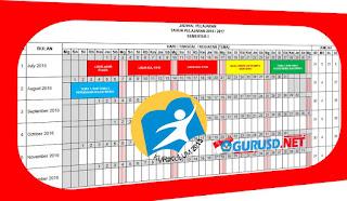 Jadwal Pelajaran Kurikulum 2013 SD di Lengkapi Minggu Efektif Revisi 2016
