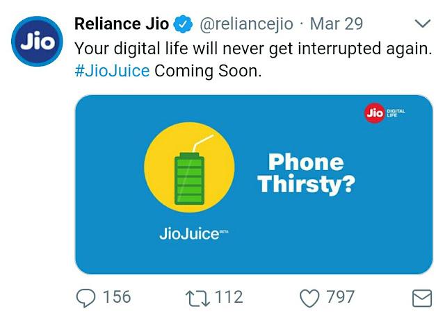 Jii juice Twitter Tweet pic by Technical Guruji