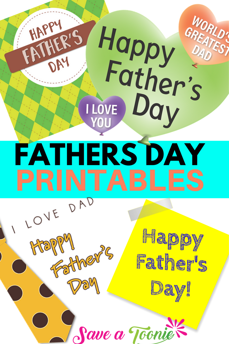 Free Father's Day Printables For Dad