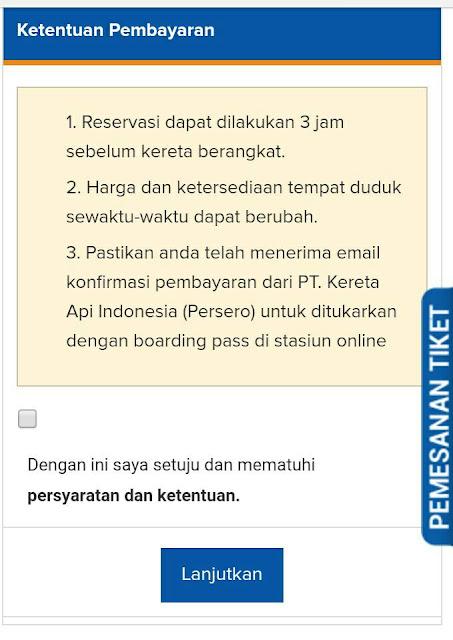Cara Booking Tiket Kereta Api Online