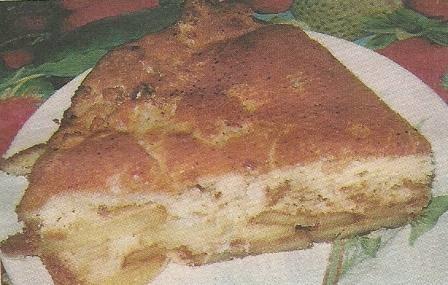 Состав продуктов и способ приготовления заливного пирога