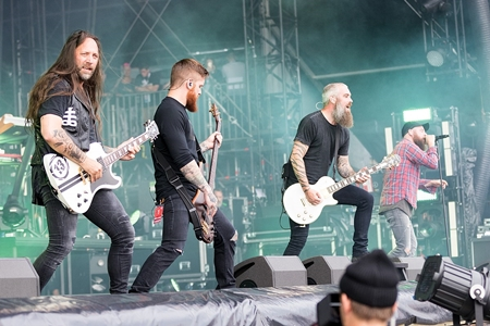 In Flames Live