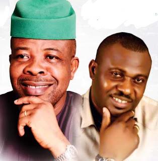 Emeka Ihedioha and Gerald Irona