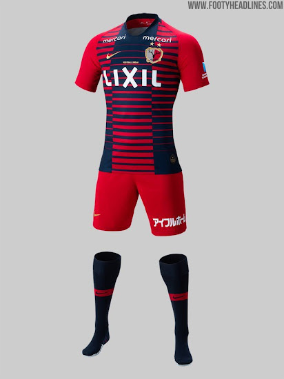 Nike Kashima Antlers 2019 Home & Away Kits Revealed - Footy ...