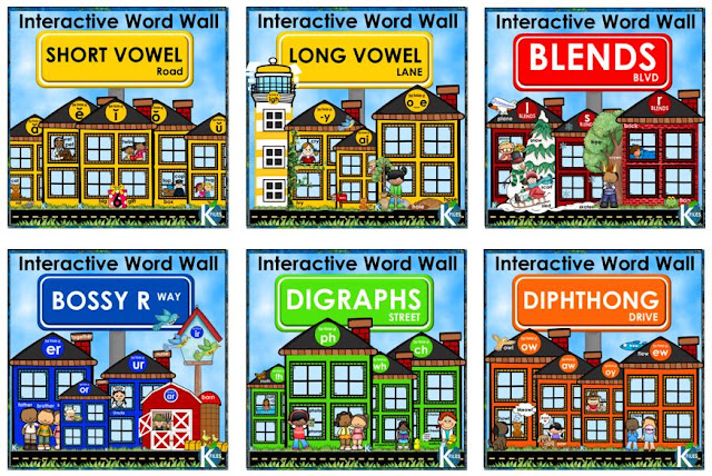 This interactive Word Wall includes word family houses for all phonograms appropriate for the primary grades. This method aligns with Words Their Way, any Spelling program AND differentiated spelling lists. You will no longer worry that your Word Wall is just taking up valuable space in your classroom. I have included a 6-page guide to help you EASILY facilitate and manage your Interactive Word Wall. Perfect for Daily 5, literacy centers, Reader's Workshop, Writer's workshop & Spelling program.