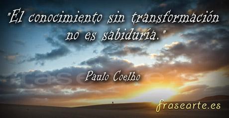 Frases sabias de Paulo Coelho