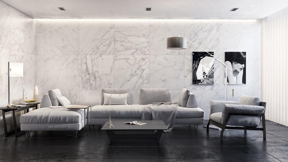 monochrome-marble-living-room
