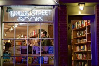 image of storefront of Bridge Street Books, address 2814 Pennsylvania Ave NW, Washington, DC, best literary bookstore in Washington, DC