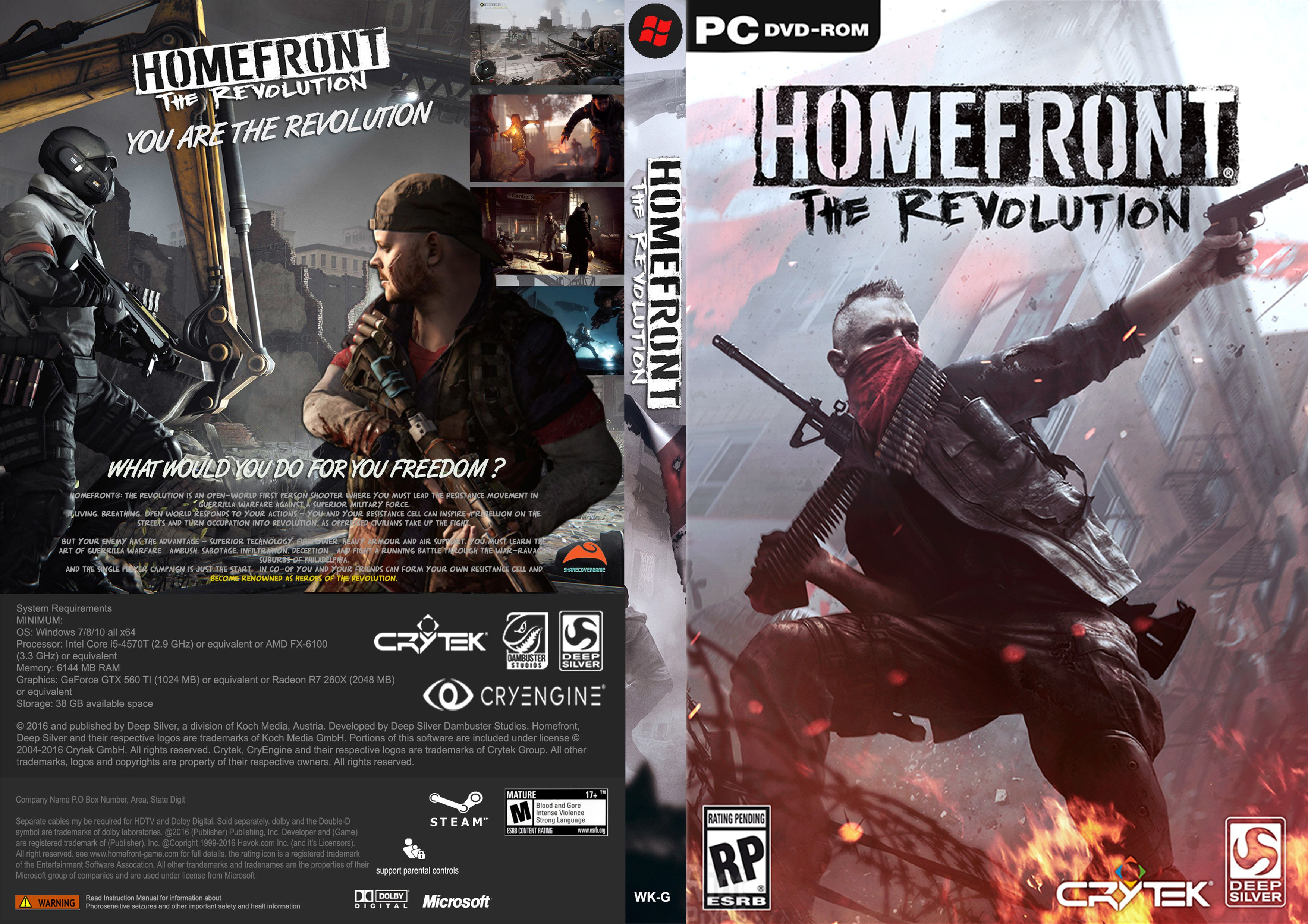 Download - Homefront The Revolution 2016 RePack DLC - PC [Torrent]