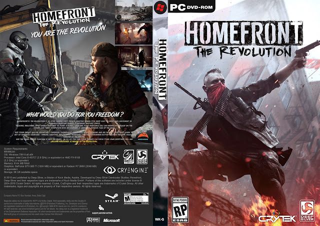 Capa Homefront The Revolution PC