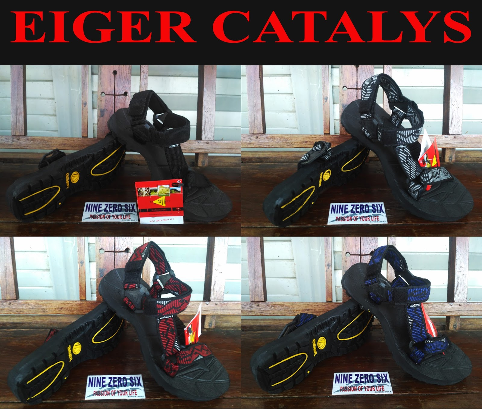 Sandal Eiger Gunung Catalys Series Nine Zero Six