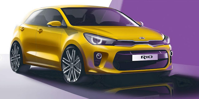 2017 all new Kia Rio