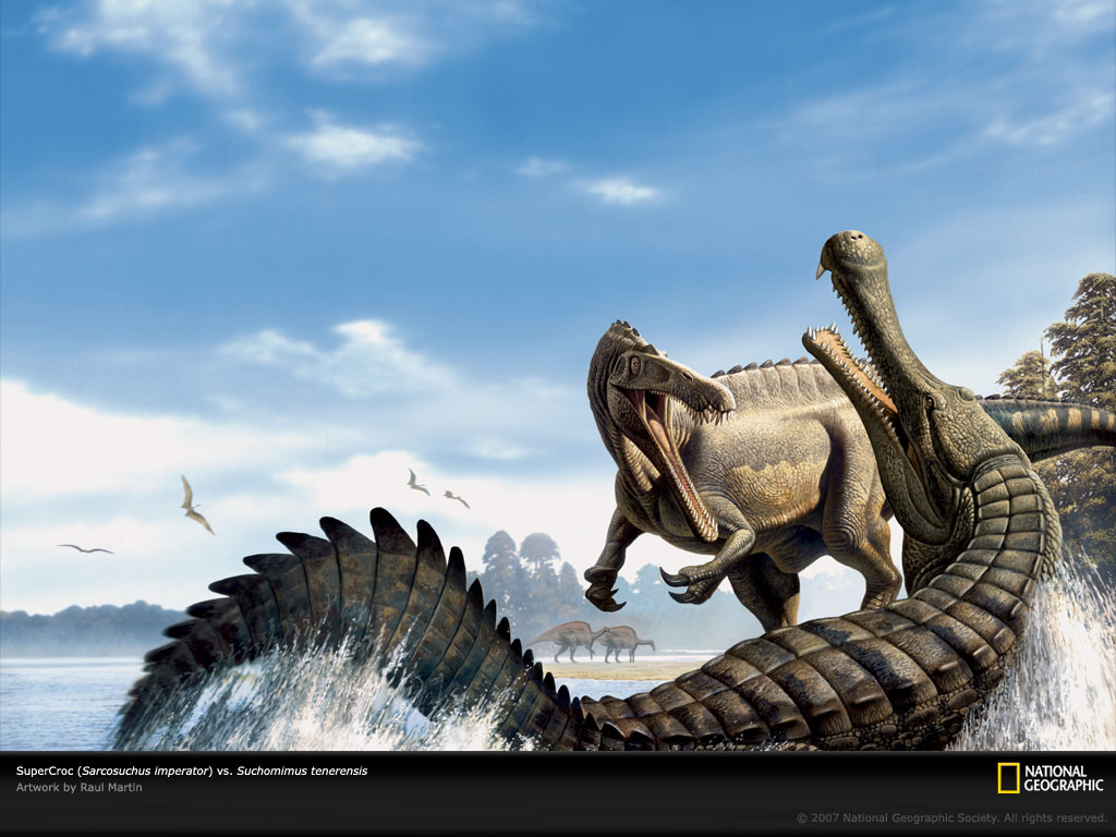 prehistoric crocodile giant