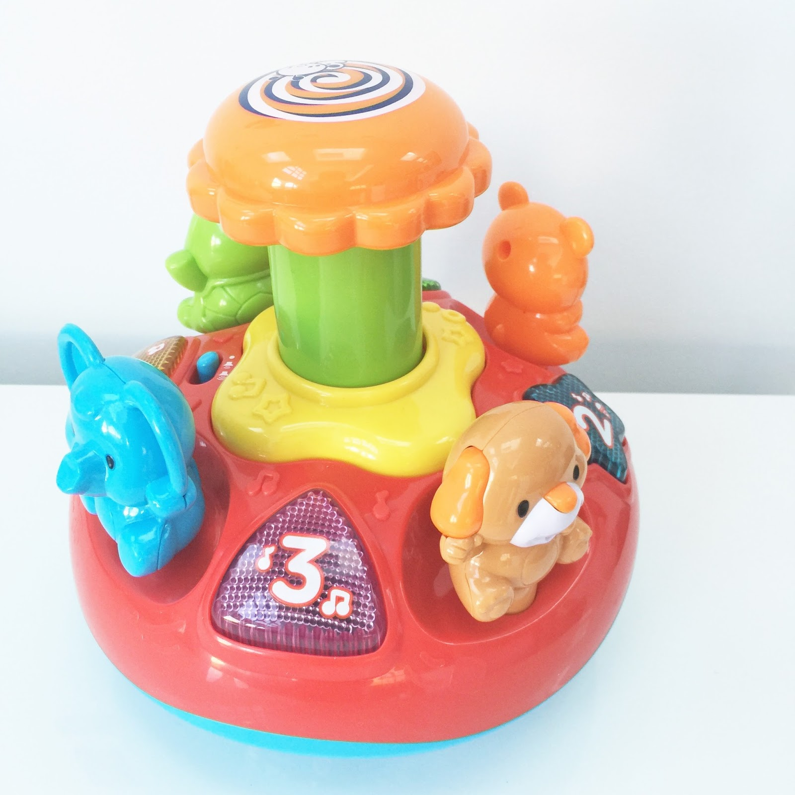 Top Vtech Toys : Product review vtech push and play spinning top the
