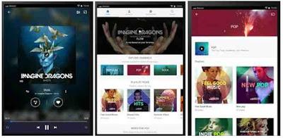 Aplikasi Musik Online Android