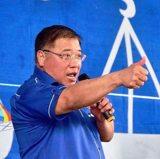 penyandang penuduk Parlimen P217 Bintulu Datuk Seri Tiong King Sing