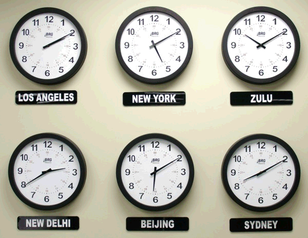 All Linux User's Blog: Change Time Zone from Command line