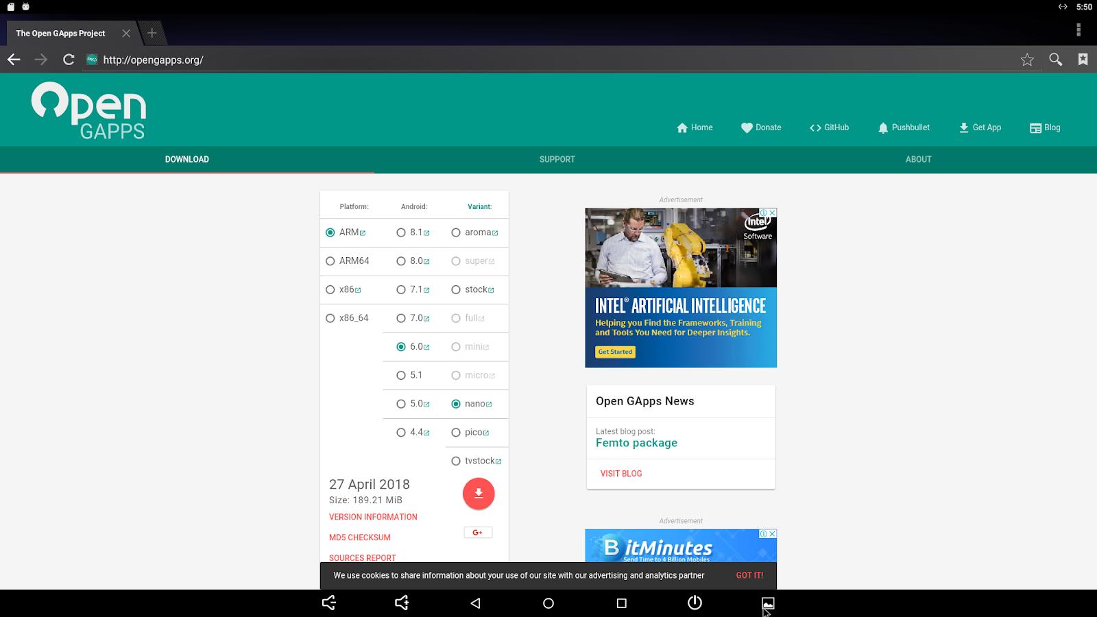 Codewalker: Make Google Home with ODROID-C2