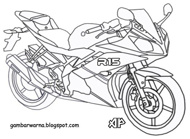 Mewarnai Motor Sport